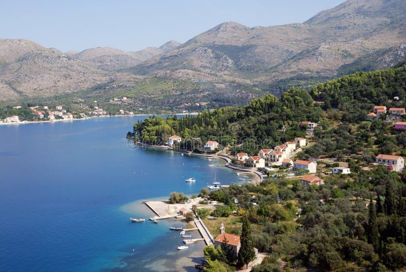Sydliga Dalmatia royaltyfria foton