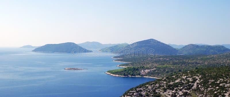 Sydliga Dalmatia arkivbild