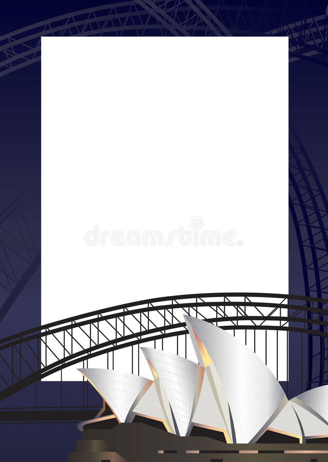 Sydney vector illustration