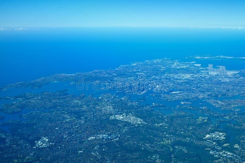 Sydney aérea fotos de archivo libres de regalías
