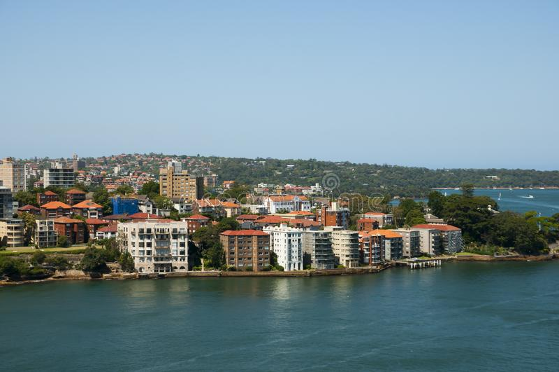 Sydney - Austrália nortes fotografia de stock royalty free