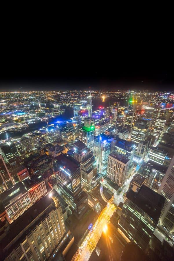 Sydney, Australië - December 30, 2015: Luchtmening van de Centra royalty-vrije stock afbeeldingen