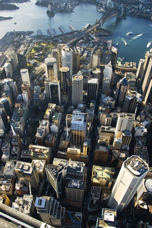 Sydney Australië van de binnenstad. stock foto