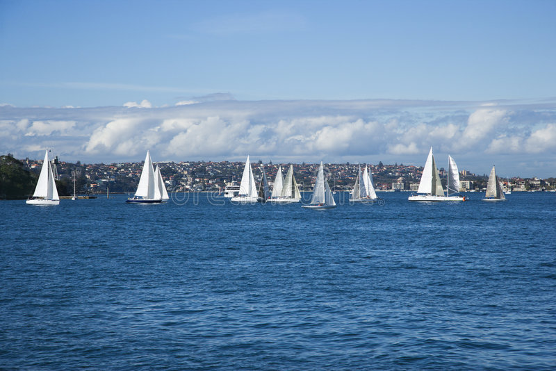 Sydney, australia żaglówki fotografia stock