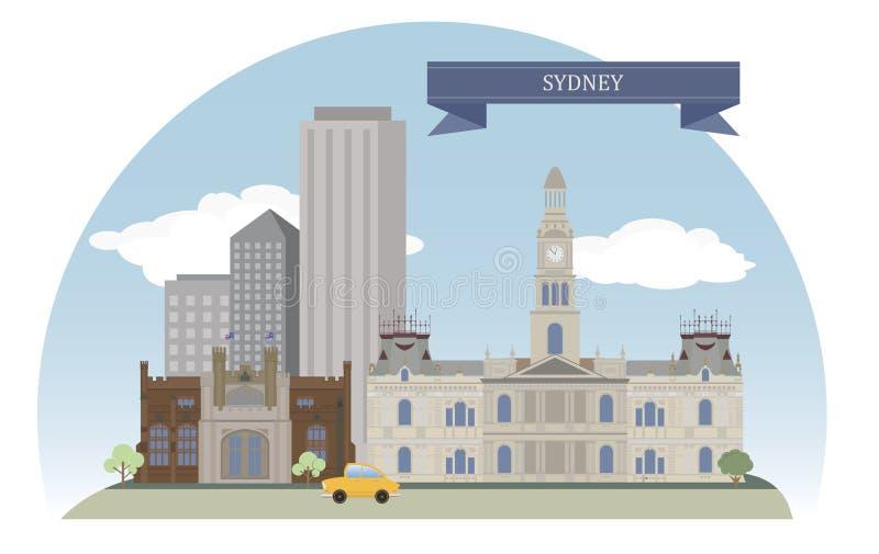 Sydney, Australia royalty ilustracja