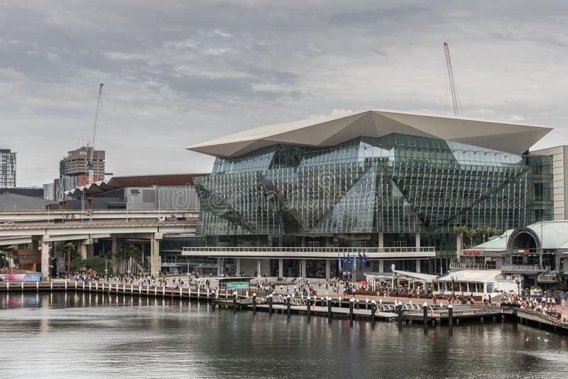 International Convention Center at Darling Harbour, Sydney Australia. royalty free stock images