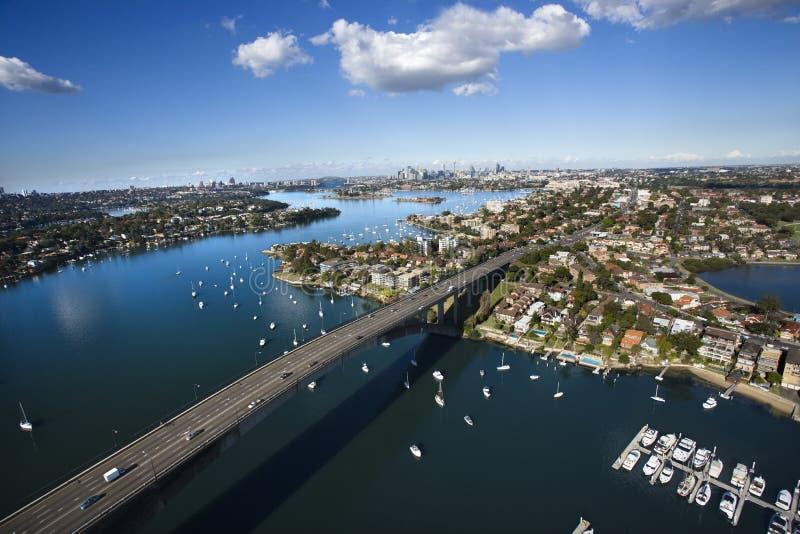 Sydney, australia most. zdjęcie royalty free