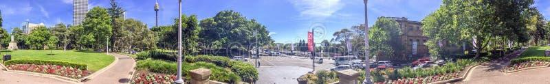SYDNEY, AUSTRALIA - NOVEMBRE 2015: Vista panoramica dello skyl di Sydney immagine stock libera da diritti