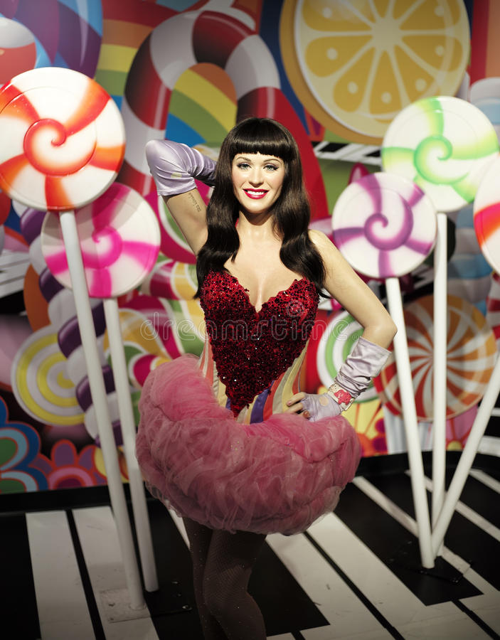 SYDNEY, AUSTRALIA sklejony wosku model osobistość przy Madame Tussauds Sydney - Sept 15, 2015 - obraz royalty free