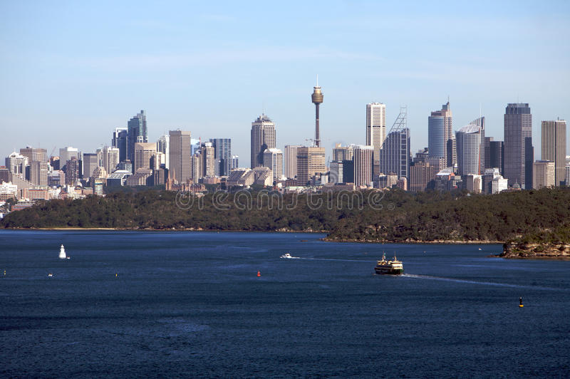 Download Sydney Australia View With City Skyline, Harbour Royalty Free Stock Photo - Image: 11725215