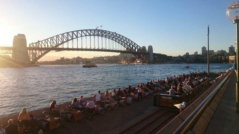 Sydney Bridge fotos de archivo libres de regalías
