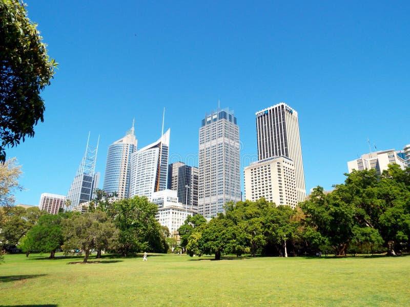Sydney budynki fotografia royalty free