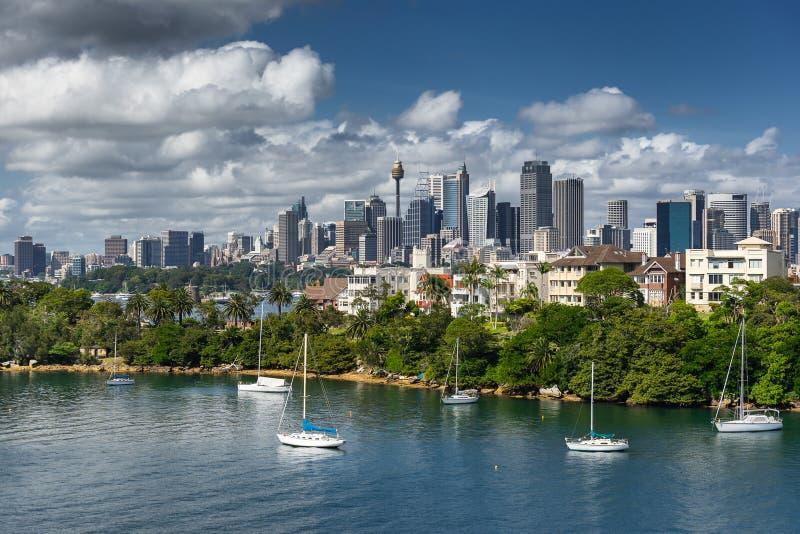 Sydney CBD fotografia de stock