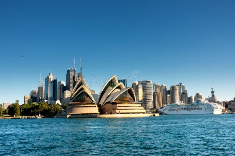 Sydney CBD dal traghetto fotografia stock