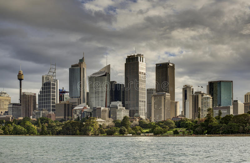 Sydney City Buildings, Sydney Australia fotografía de archivo