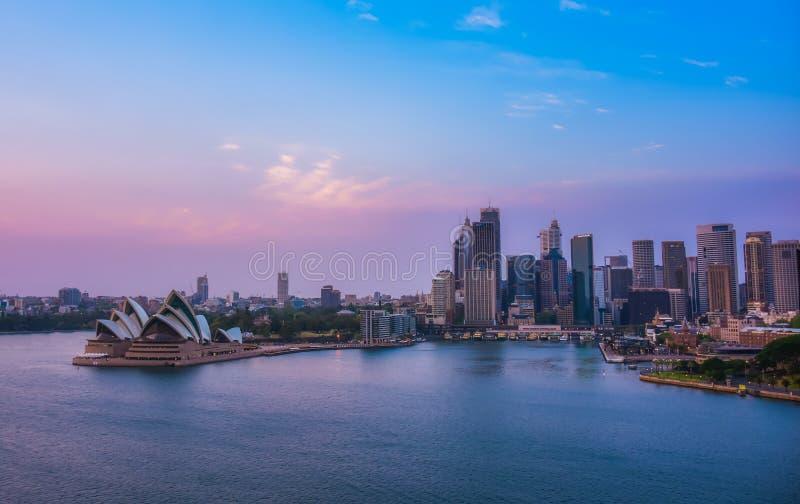 Sydney City Landscape image libre de droits