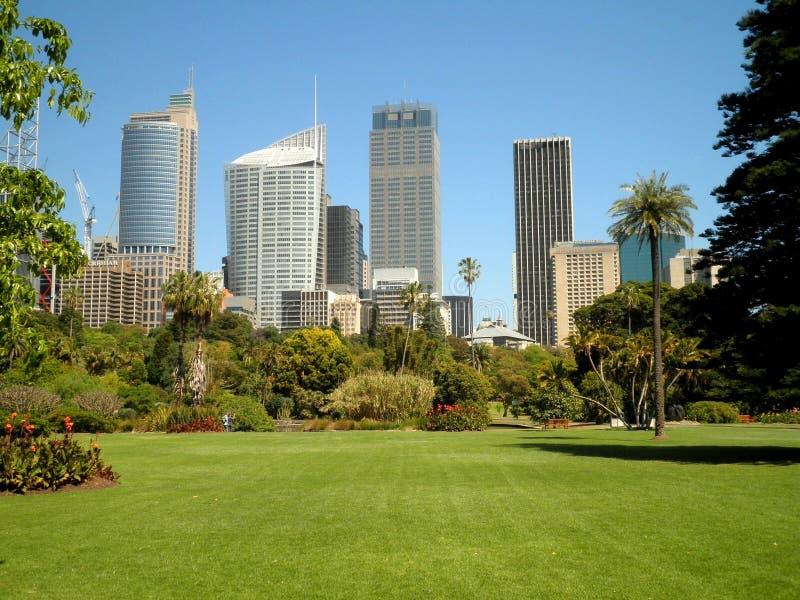 Sydney City Park stockbild