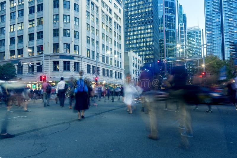Sydney City Roads royalty-vrije stock fotografie