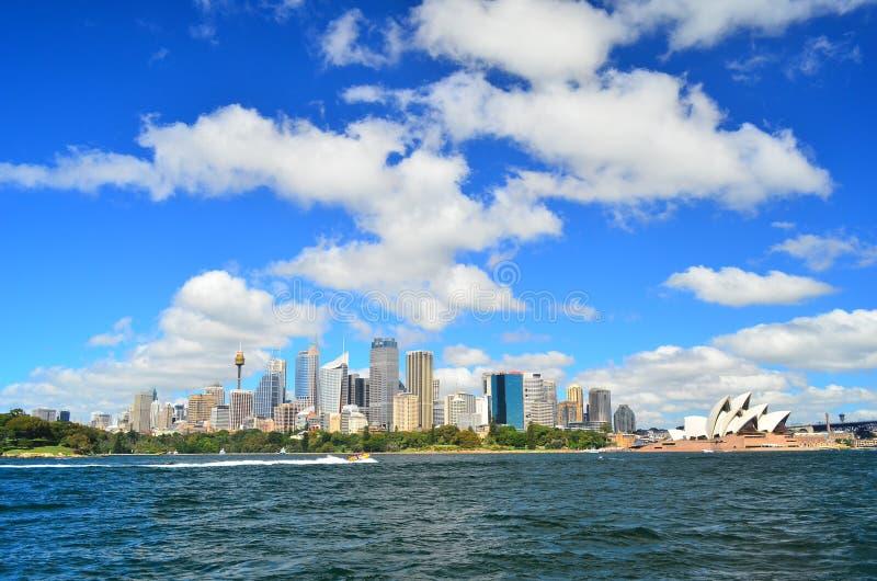 Sydney City Scape imagen de archivo libre de regalías
