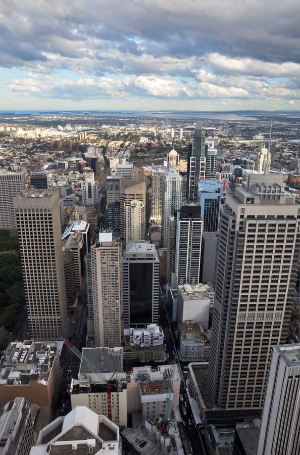 Sydney City & Southern Suburbs Aerial Australia stock photos