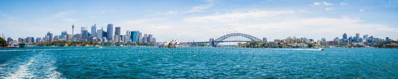 Sydney City View stockbild