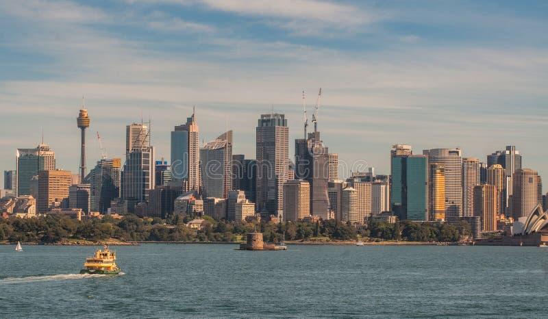 Sydney City View image libre de droits