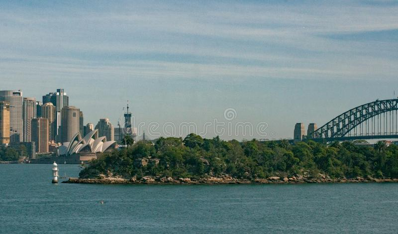 Sydney City View photographie stock