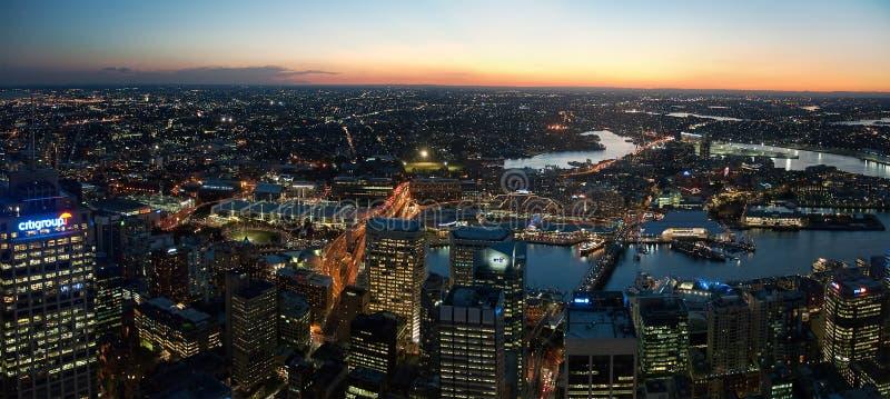 Sydney cityscape royaltyfri bild