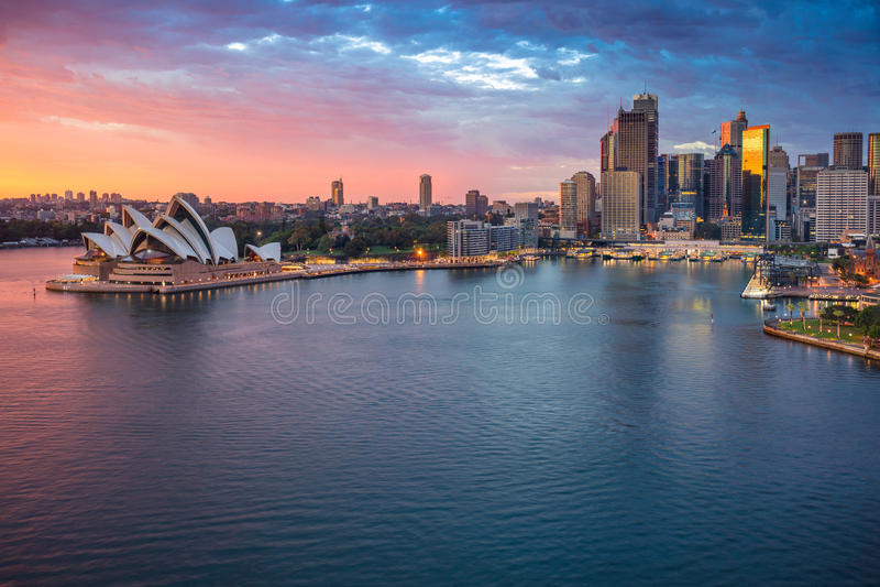 Sydney. royalty free stock image