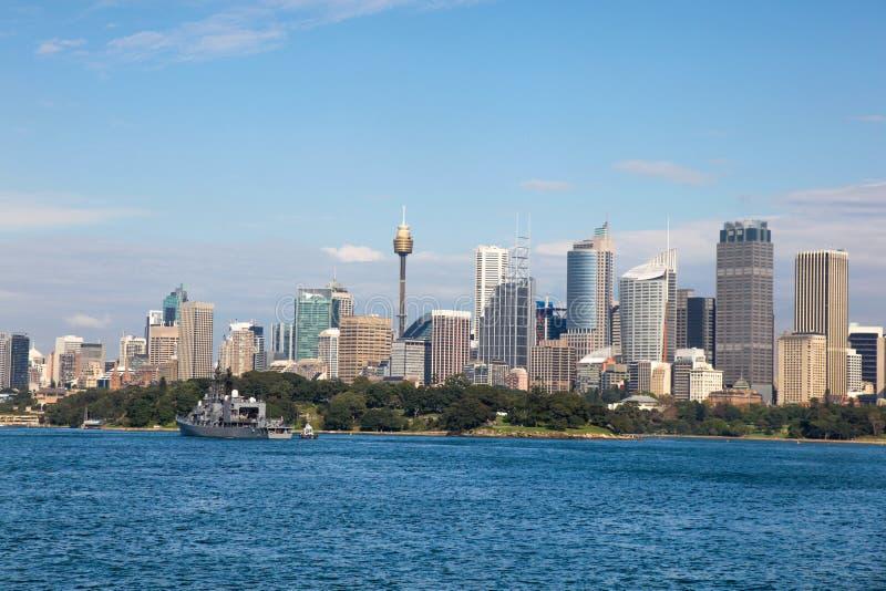 Sydney da Sydney Harbour NSW Australia fotografia stock