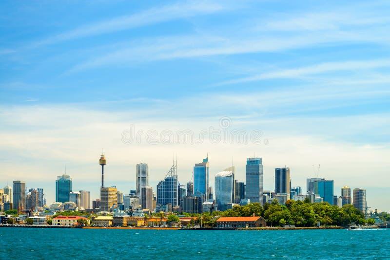 Sydney dalla baia del Watson fotografie stock