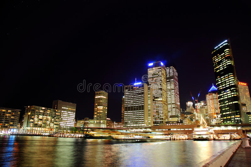 Sydney Darling Harbour stock image