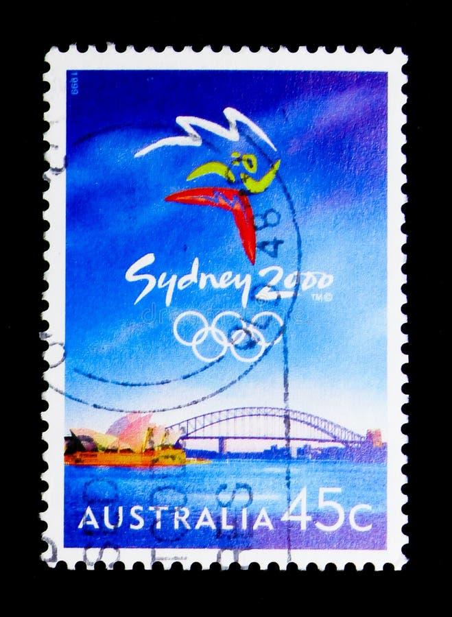 Sydney Emblem OSserie, circa 1999 royaltyfri fotografi