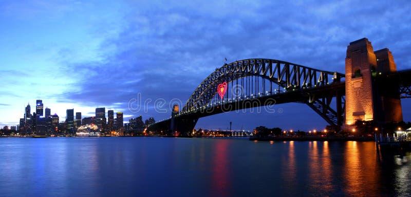 Sydney en amor fotos de archivo