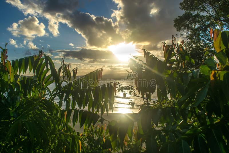 Sydney en la puesta del sol foto de archivo