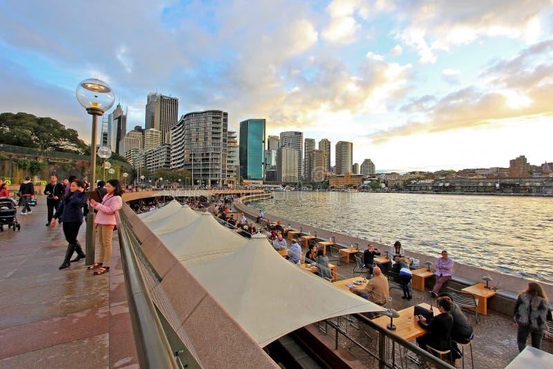 Sydney et port photos libres de droits
