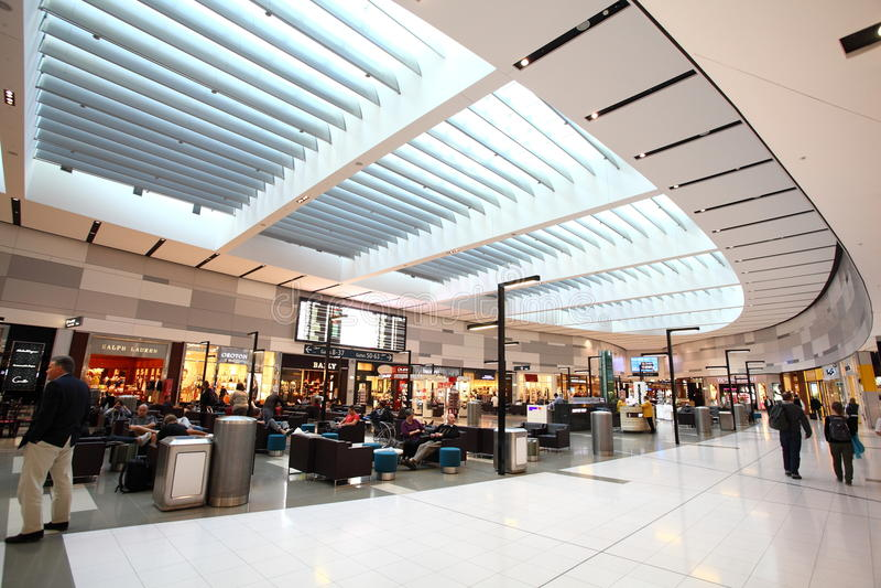 Sydney-Flughafen stockfoto