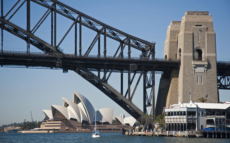 Sydney hamn arkivbilder