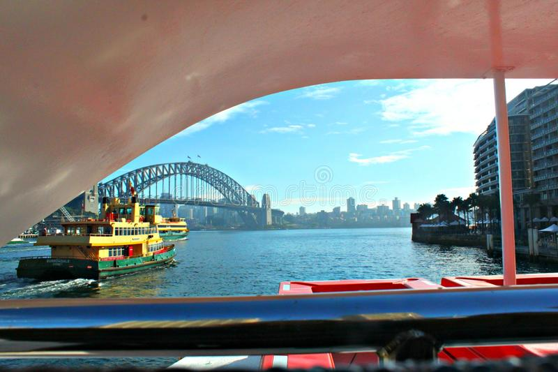 Sydney Harbor images libres de droits