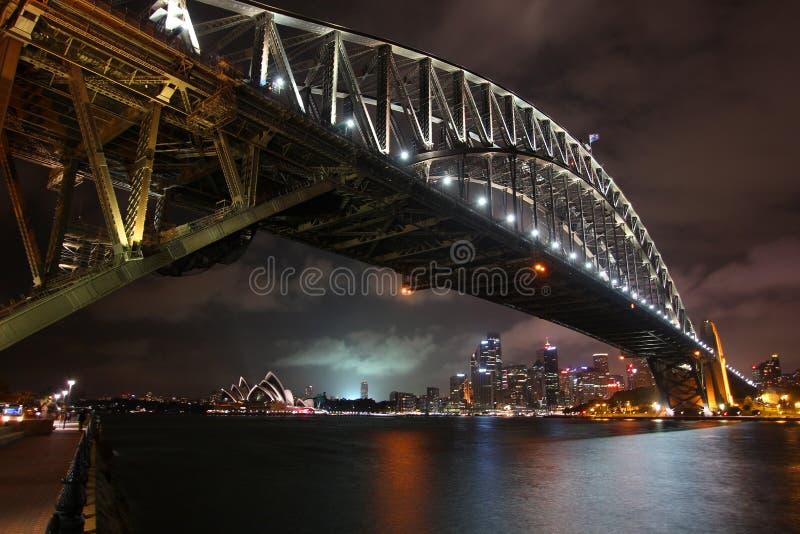 Sydney Harbor Bridge 2 royaltyfria foton