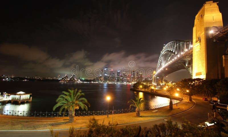 Sydney Harbor Bridge `, fotografering för bildbyråer