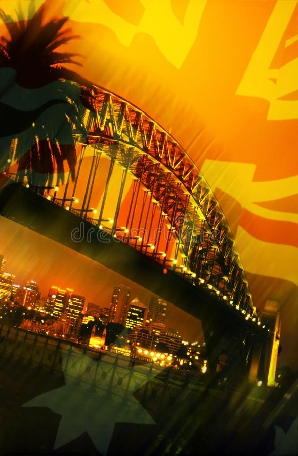 Download Sydney Harbor Bridge - Australia Stock Illustration - Illustration: 14965977