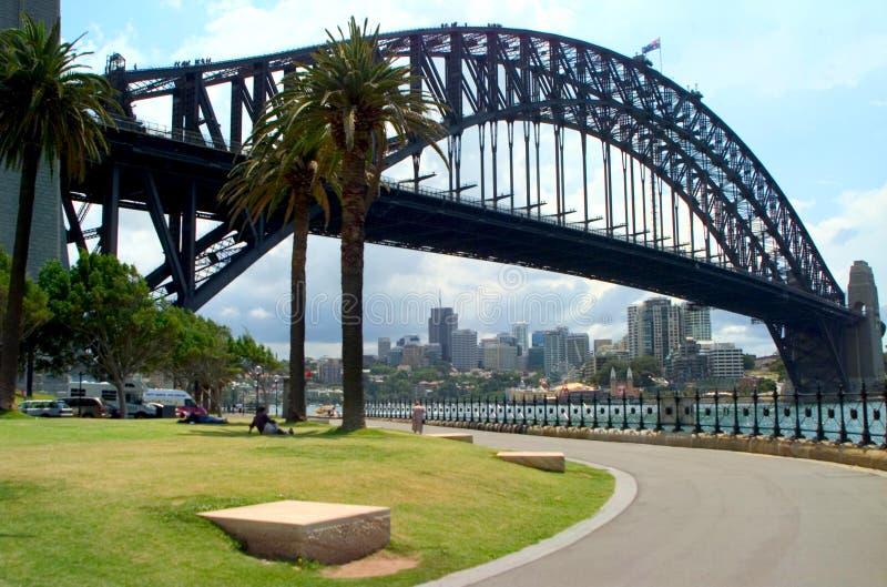Sydney Harbor Bridge foto de stock royalty free