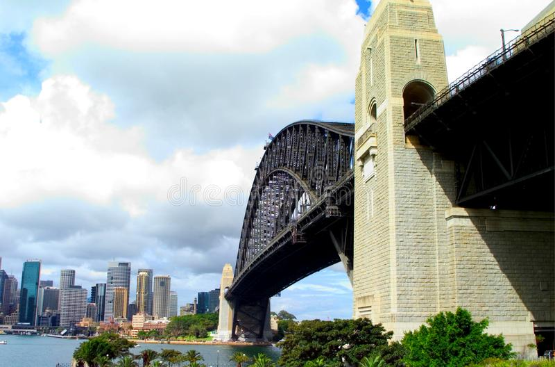 Sydney Harbor Bridge fotografia de stock
