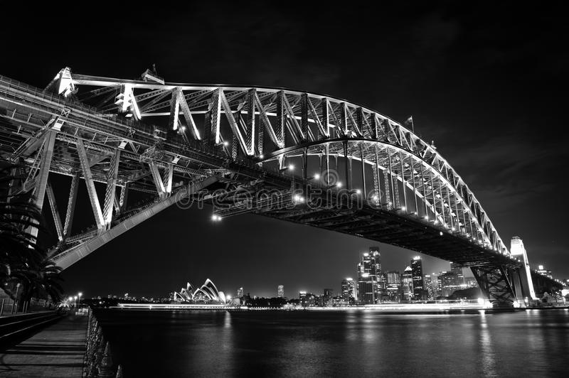 Download Sydney Harbor Bridge & Opera House Stock Image - Image: 24450517