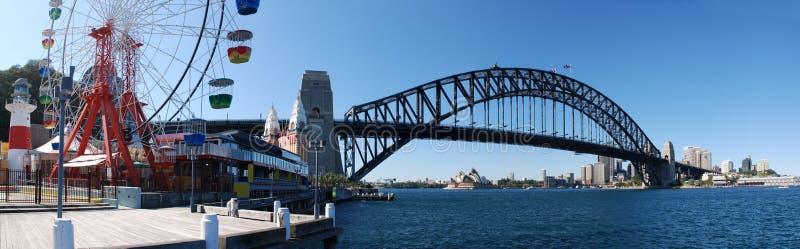 Sydney Harbor Panorama royalty free stock photos