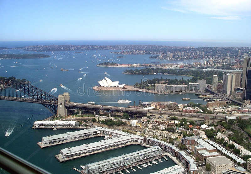 Sydney Harbour Australia stock photo
