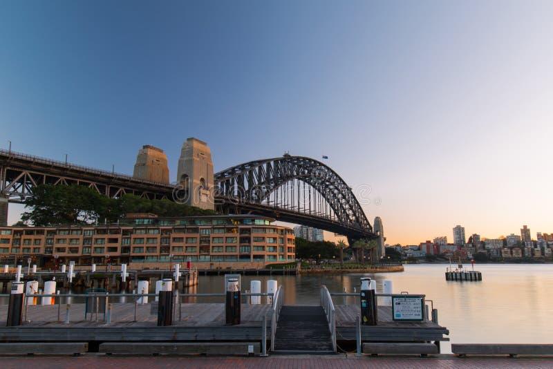 Sydney Harbour Bridge image stock