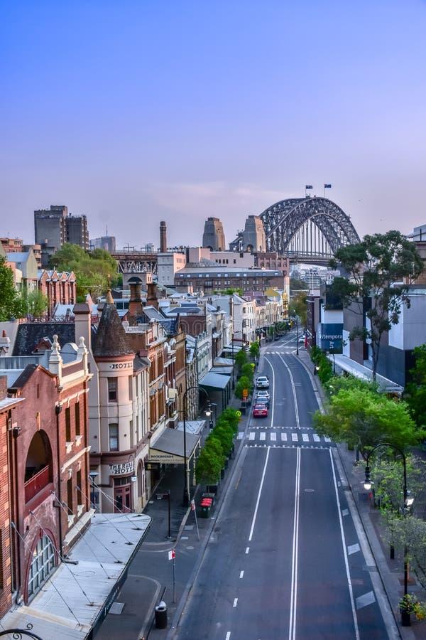 Sydney Harbour Bridge image libre de droits