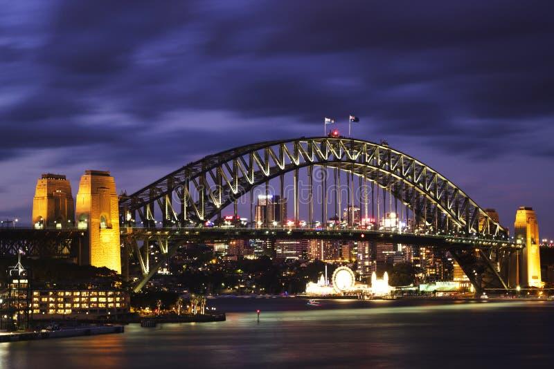 Sydney Harbour Bridge stockbilder